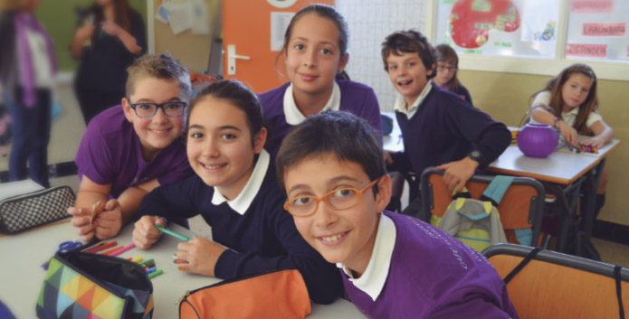 Misión, visión y valores colegio Madre de Dios bilbao