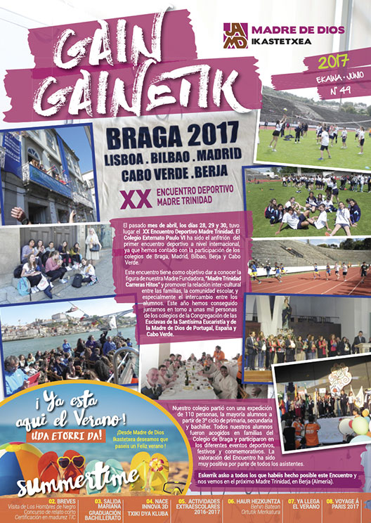Portada Gain Gainetik Junio 2017