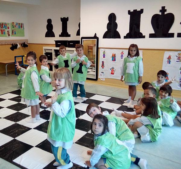 Ajedrez en el aula - Educación Infantil