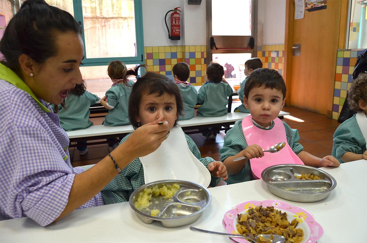 Madre de dios ikastetxea colegio concertado en bilbao for Proyecto de comedor infantil