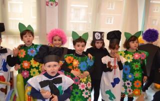 Eventos y celebraciones en escuela infantil y guardería
