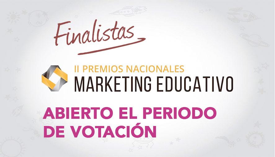 votacion finalistas premios marketing educativo
