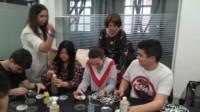 Visita al laboratorio del ayuntamiento de Bilbao