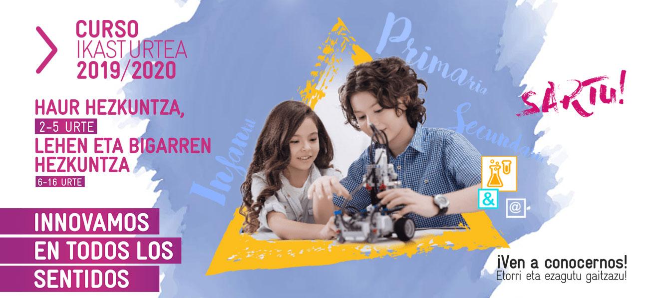 Matriculación en Infantil, Primaria y Secundaria