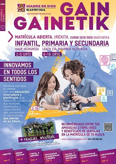 Gain Gainetik Enero 2019