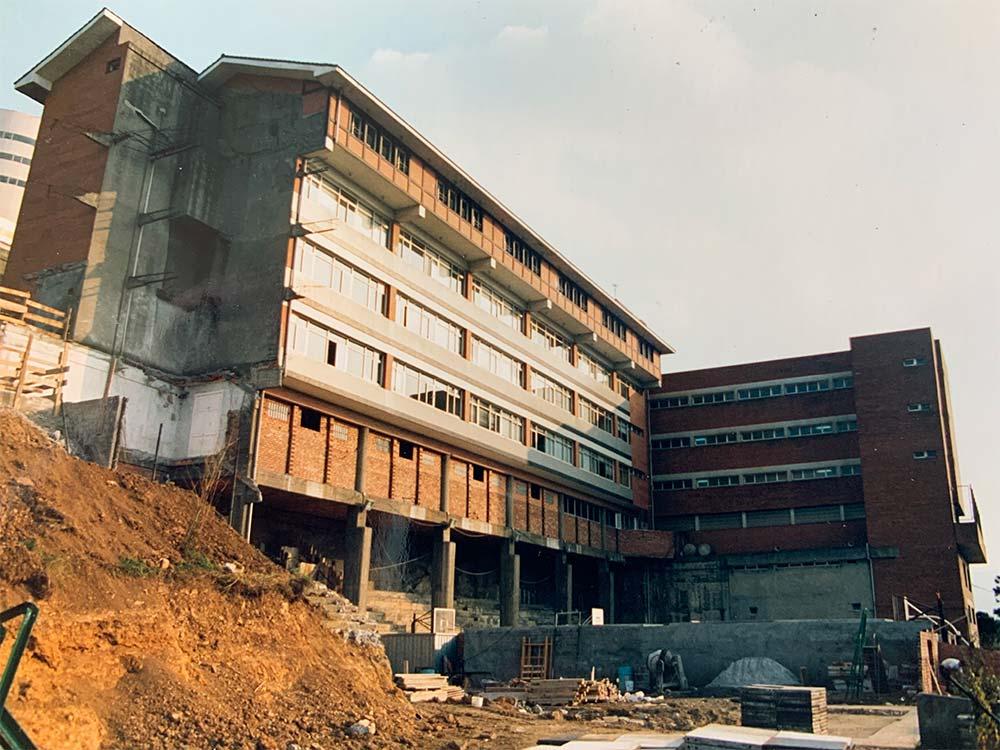 Construcción Colegio Madre-de Dios Ikastetxea Bilbao