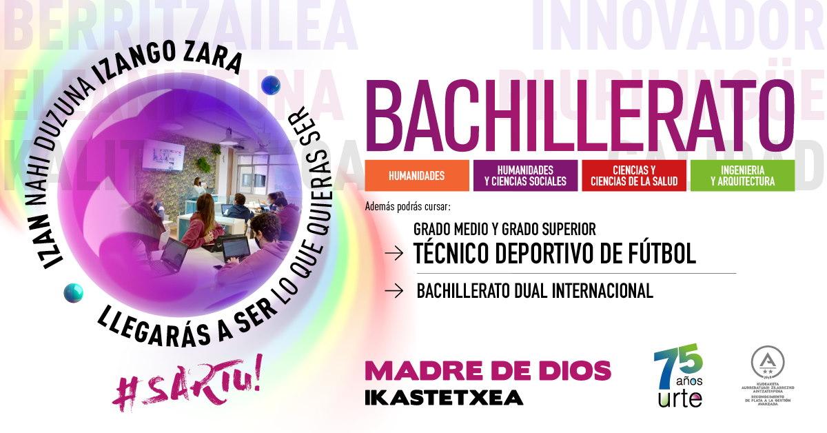 Matrícula Bachillerato 2020-2021